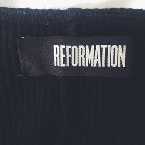 Reformation Tops - Cute 🌸Reformation🌸 scoop back halter top, black